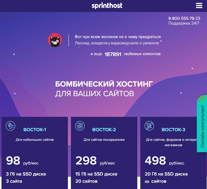 Хостинг 20 руб в месяц новосибирский игровой хостинг